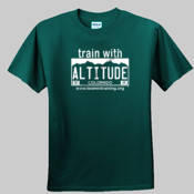 Train with Altitude - Unisex or Youth Ultra Cotton™ 100% Cotton T Shirt 2