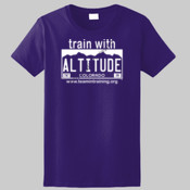 Train with Altitude - Ladies Ultra Cotton™ 100% Cotton T Shirt 2