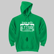 Train with Altitude - DryBlend™ Pullover Unisex Hooded Sweatshirt 2