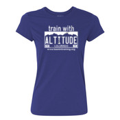 Train with Altitude - Ladies Ultra Performance 100% Performance T Shirt 2